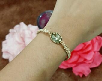 Lucky Jewel Bracelet (Oval)