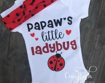 Little Ladybug Bodysuit