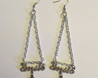 Smile Chain Earrings