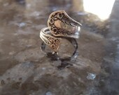 Vintage Antique Spoon Ring (Statement Ring)
