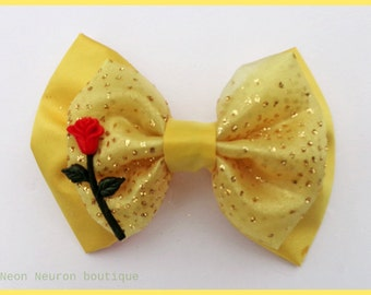 Beauty Belle Rose Bow