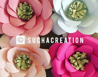 Large Paper Flower for backdrop , decoration.