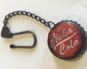 Nuka Cola Cap Keychain