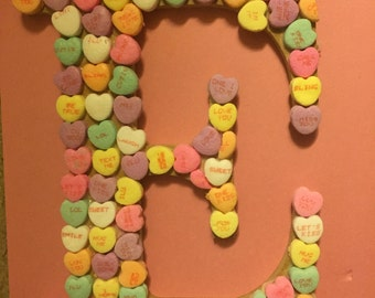 Valentines Candy Letter