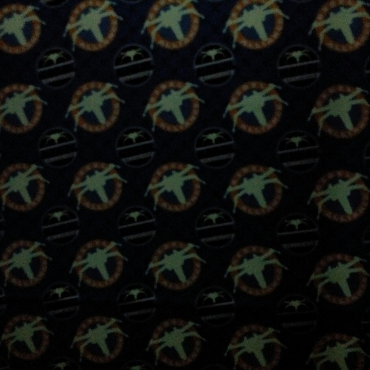 Star wars fabric camelot star wars glow in the dark for Star fabric australia