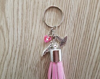 Ballet Inspired Tassel Key Chain - Zipper Pull