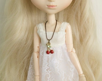 Necklace Cherry for dolls!