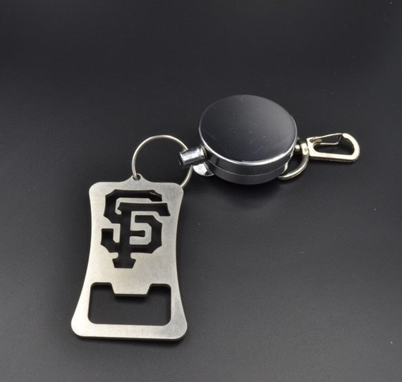 san francisco giants retractable bottle opener bar. Black Bedroom Furniture Sets. Home Design Ideas