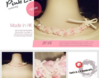 The PinK Lady handmade necklace