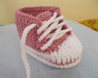 CROCHET PATTERN, Baby pattern, Baby Shoes pattern, Crochet Baby Booties, Sneakers baby pattern, shoes baby pattern