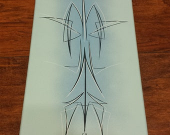 Pinstriping on Canvas