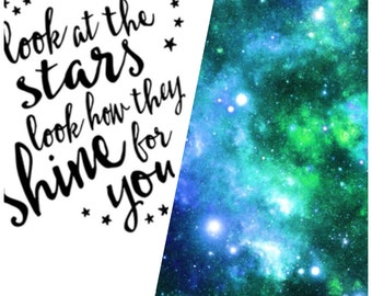 PREORDER: Minky Blanket - Look At The Stars