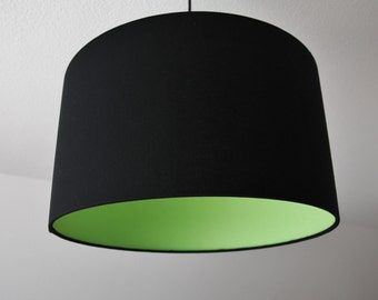 "Lampshade ""black green"""