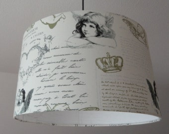 "Ceiling Lampshade ""Angels"""