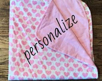 Personalized Nursery Blanket