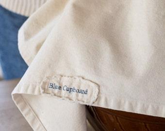 Blue Cupboard Natural Denim Kitchen Towel