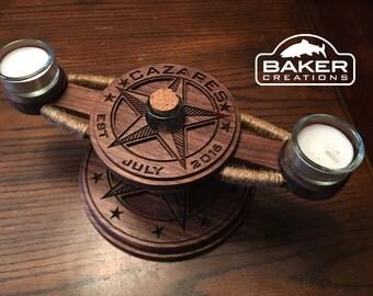 Housewarming Gift Candle Holder Centerpiece