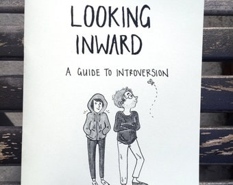 Looking Inward: A Guide to Introversion - Comic Zine