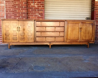 """Mid Century floating """"Tamarlane"""" Credenza/ Sideboard by Thomasville Furniture"""