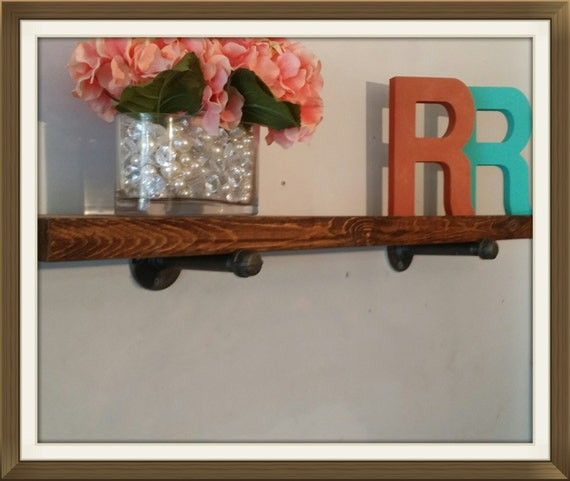 floating shelf floating shelves 12 inch deep industrial. Black Bedroom Furniture Sets. Home Design Ideas