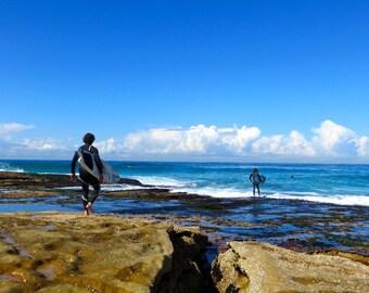 Ocean Photography, Beach Photography, Tasman Sea, Australia, Surfing Photo