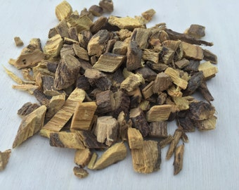 Licorice Root (Chips), Glycyrrhiza glabra (liquorice) ~ Sacred Herbs and Spices from Schmerbals Herbals
