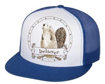 Beaver Believer trucker hat