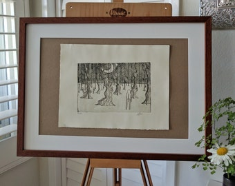 Forest II: Original, Hand-Pulled, 1st Edition print