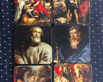 Famous Painting Art Coasters