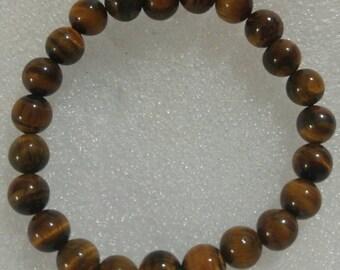 Tigers Eye Beaded Bracelet