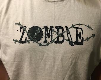 Custom designed zombie tshirts