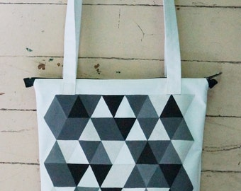 Bags with ul′tramodnym polygon image