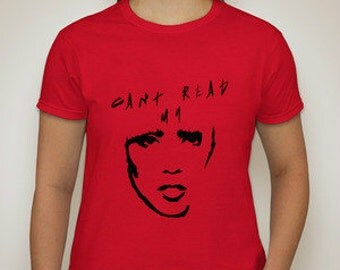 Can't Read My Poker Face WOMAN'S T-SHIRT