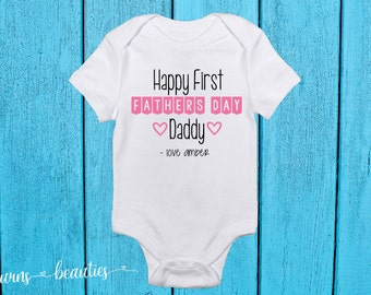 Fathers Day Onesie customize for boy or girl