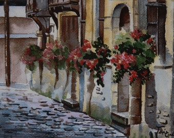 Street in Roen, France - Print or Cards