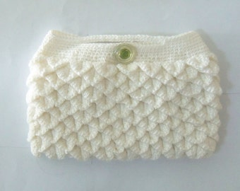 Crochet Lady Clutch, chic look for lady