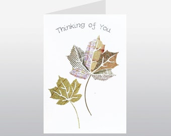 Thinking of You Card Leaf WWTH01
