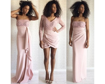 Variations bridesmaids dresses
