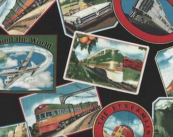 Planes , Trains, Automobiles,Windham Fabrics