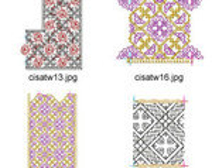 Blackwork  ( 16 Machine Embroidery Designs from ATW )