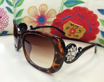 The Bling Sunglasses with Rhinestones #6