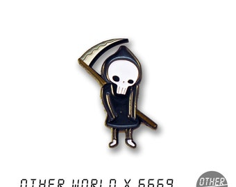 Little Death lapel pin