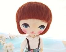 Handmade cloth doll, Fabric doll, Ragdoll, Doll for girl, Nursery decor, Toy for girls, Gift for girl, birthday gift for girl, Art doll