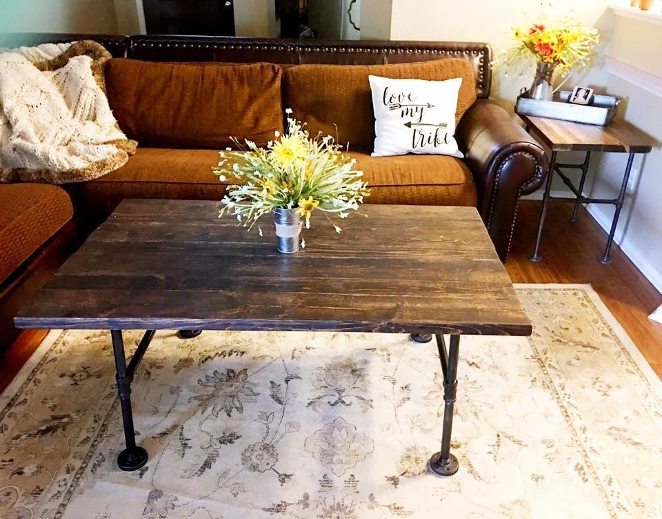 Rustic Industrial Coffee Table Rustic Furniture Rustic