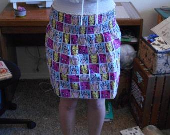 Old school pink Marvel Skirt