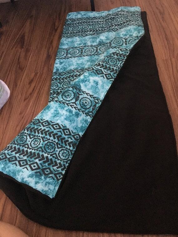 Hawaiian Print Baby Blanket By Kananicreationshi On Etsy
