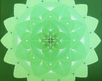 Mandala of forgiveness and love