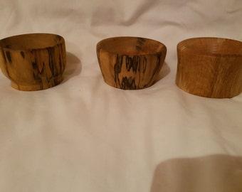 Small wood pot