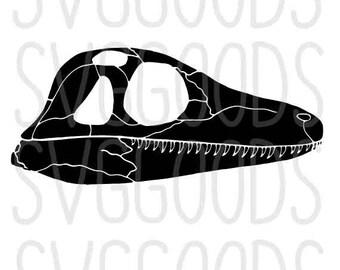 Dinosaur skull svg, fossil svg, dinosaur svg, skull svg, dino svg, tyrannosaurus svg, trex svg, t-rex svg, vector file, cut file, cricut svg