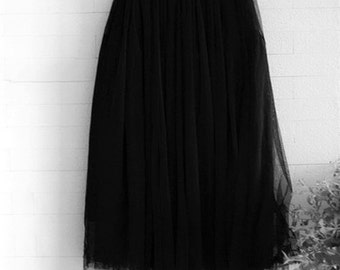 Tulle Skirt (5 Layers)